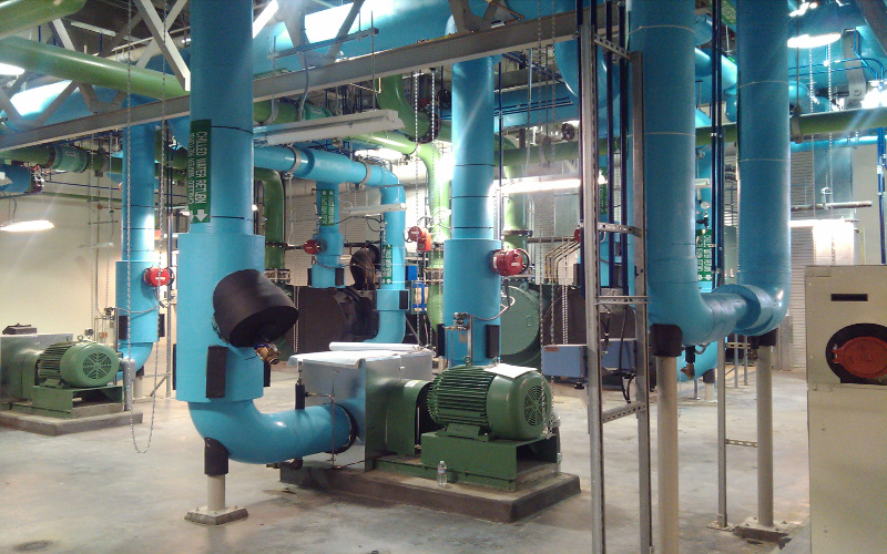 Fort Detrick Microgrid Resilient Chilled Water 99.99% availability high efficiency
