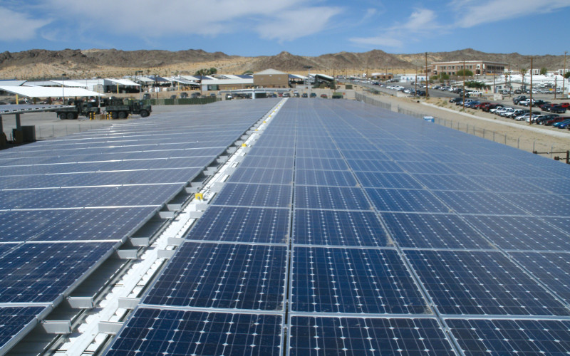federal solar ppa for 29 palms navy