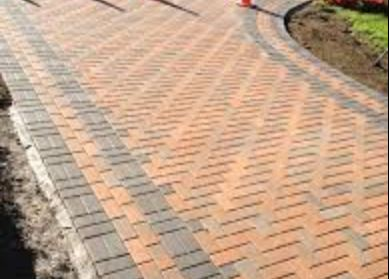 integrated energy surety recycled pavers