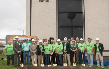 PowerSurety Mark Vilchuck NASA CHP Microgrid Groundbreaking
