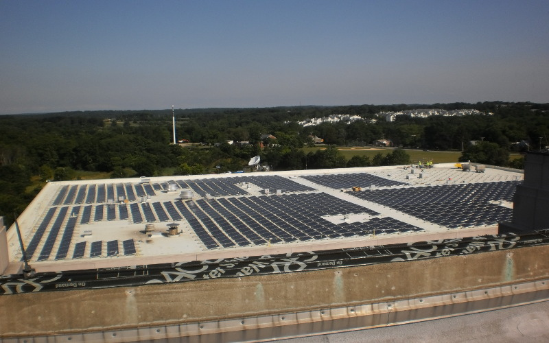 economical high density rooftop pv arrays