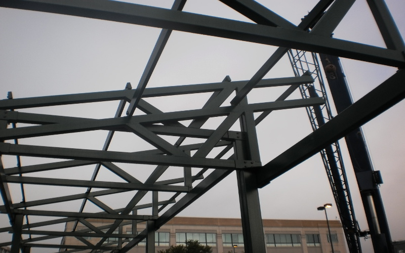 integrated energy surety canopy framing c