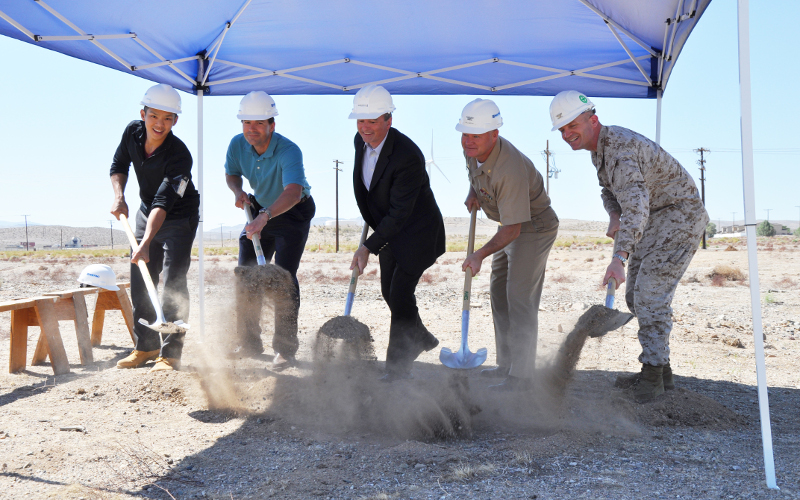 navy federal solar ppa - groundbreaking
