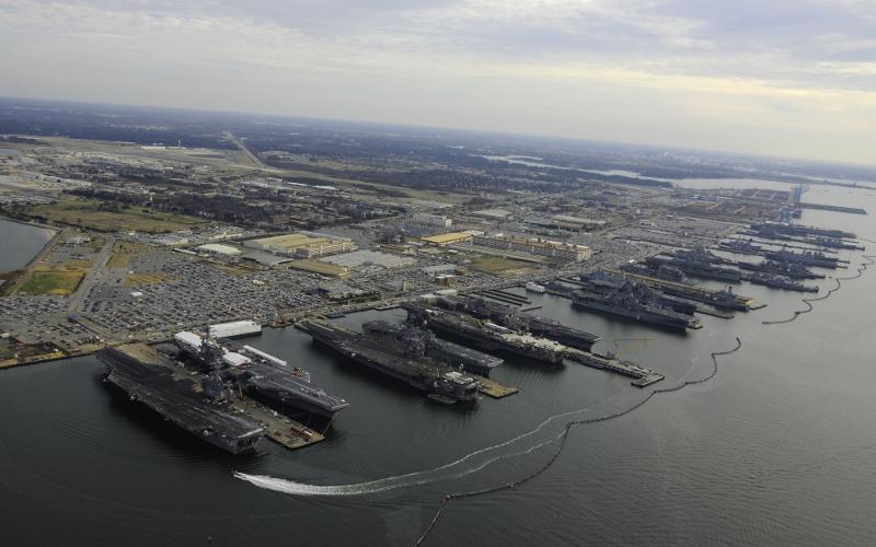 navy microgrid study coastal maritime facility