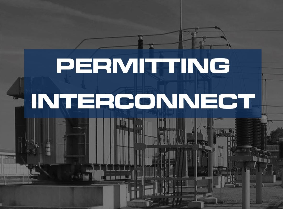 energy project deliverables permitting interconnect