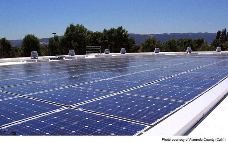 Santa Rita Microgrid Renewable Energy Generation Solar PV