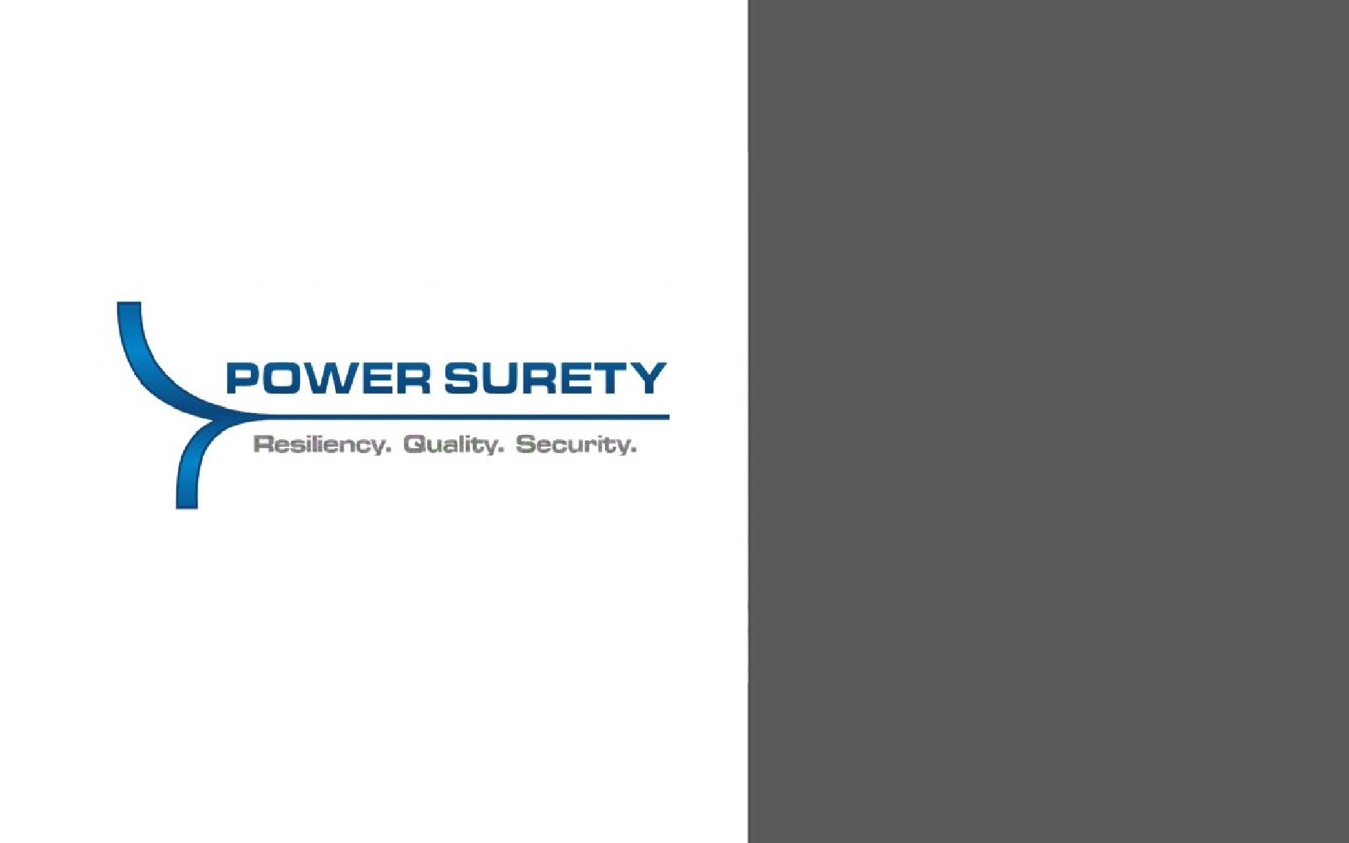 PowerSurety convergence of energy surety power quality energy services